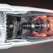 ジェットエンジン内部構造