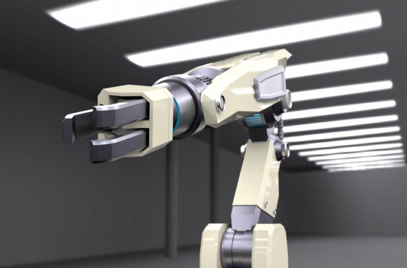 ロボットアーム2