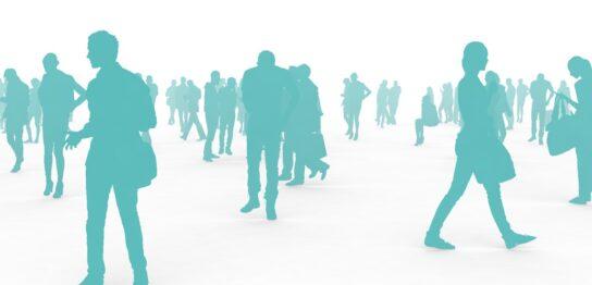 人々、群衆イメージ